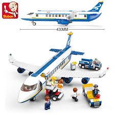 <b>Sluban Model building</b> kits <b>compatible</b> with <b>lego</b> aviation Airbus 422 ...