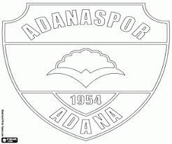 Kleurplaten Emblemen Van De Turkse Voetbalcompetitie Süper Lig