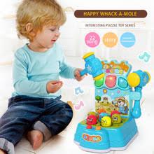Музыкальные пластиковые детские <b>игрушки Happy</b> Whack-A ...