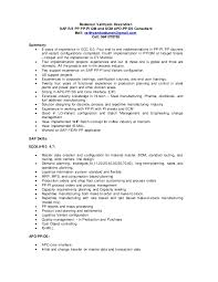 Sap Pp Consultant Resume Consulting Resume Sample 6 Consulting