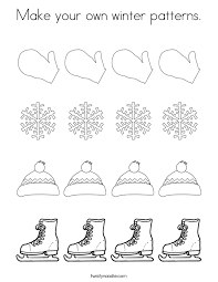 Small Picture Hat Patterns Coloring Page Twisty Noodle