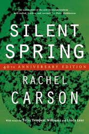 rachel carson american biologist com book cover of rachel carson s silent spring first published in 1962
