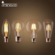 led lights for chandelier. LED Filament Bulb E27 Retro Edison Lamp 220V E14 Vintage Candle Light Globe Chandelier Lighting COB Led Lights For D