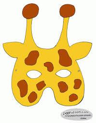 Giraffe Printable Template Giraffe Mask Template Printable Free Printable Coloring Page For Kids