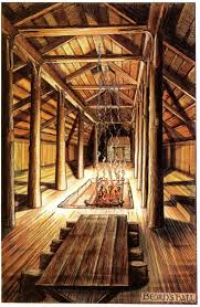 images about tolkien alan lee hobbit and the tolkien s own illustrations for the hobbit beorn s house