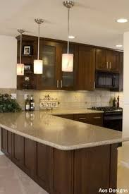 kitchen counter lighting ideas. Plain Counter Warm Brown Kitchen Cabinet Paint Color Ideas In Counter Lighting Ideas N