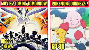 Pokemon movie 2 Coming Tomorrow || Anime News || Pokemon Journeys Ep 30  Preview Hindi - YouTube