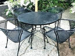 7 piece wrought iron patio set full size of unique 7 piece wrought iron patio set