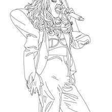 lady gaga coloring pages. Modren Gaga Lady Gaga Live One  On Coloring Pages I