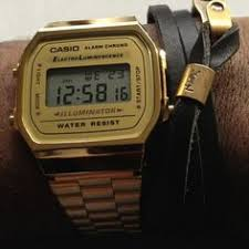look ma no hands classic digital watch and chang e 3 gold casio digital watch