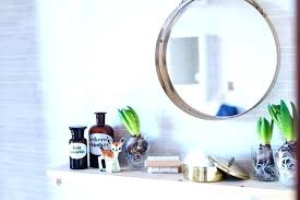 hanging bathroom mirror with shelf g bathroom shelves shelf wall mounted how to make cube hanging