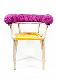 Purple Woven Chairs
