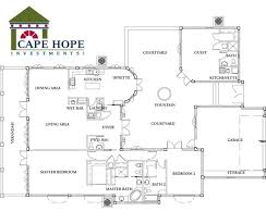 Floor Plan Of A House In Spanish Small Style Home Plans Houses Design Throughout Simple Ideas