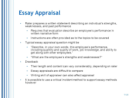 performance evaluation strengths and weaknesses examples co performance evaluation