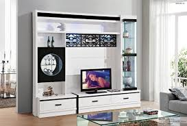 simple tv cabinet glass shelf white paint modern brief with most up to date