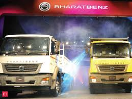 can bharatbenz topple ashok leyland and tata motors in the truck market the economic times