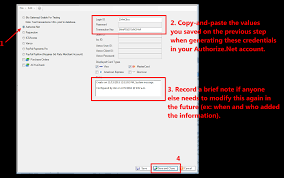 select auth net enter the credentials record a memo and save and close png that completes the steps for configuring the api signature credentials continue reading to finish the next steps for adding the silent post recurring url