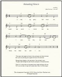 Bagpipe Finger Chart Amazing Grace Free Lead Sheets For All Instruments And Voices
