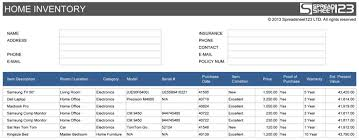 Excel Business Inventory Management Template 271996810265 Excel