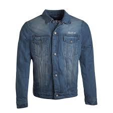 Light Blue Fitted Denim Jacket Details About Oxford Tracker 17 Mens Denim Light Blue Motorcycle Jacket 2xl 151206010048