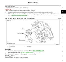 how to change drive belt nissan titan forum how to change drive belt belt2 jpg