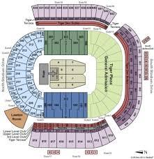 Tiger Stadium Tickets In Baton Rouge Louisiana Tiger