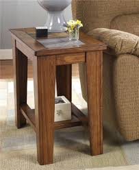 oak chairside table raymour and flanigan end tables chairside end table
