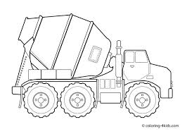 truck colouring in tons of coloring pages for kids lots of construction trucks