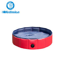 bone meal for dogs. Red PVC Folding Pet Shower Swimming Pool Bath Tub For Dog And Cat Bone Meal Dogs