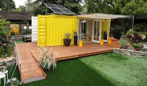 Cargo Home From The Home Front Tiny Cargo Container House Is Sunset Idea