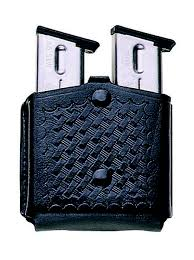 Bianchi Magazine Holder Model 100 Triple Threat Magazine Pouch PatrolTek™ Leather The 28