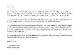 Sample Personal Recommendation Letter For Employment Of