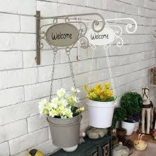 iron hanging baskets lot creative indoor decor metal hanging basket wall decor iron flower pots for artificial wrought iron hanging baskets planters