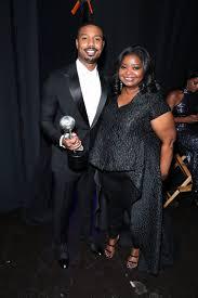 Michael B. Jordan and Octavia Spencer at the 2020 NAACP Image Awards    Damn, Literally Everyone Looked Incredible at the NAACP Image Awards    POPSUGAR Celebrity Photo 48