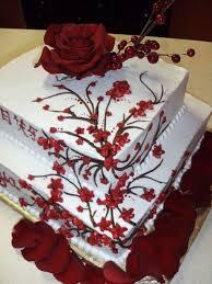 Asian Design Birthday Cake Cakecentralcom