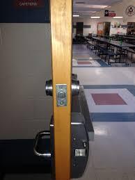 school gym doors. Gym With Panics And Deadbolts Cafeteria Door Deadbolt School Doors D