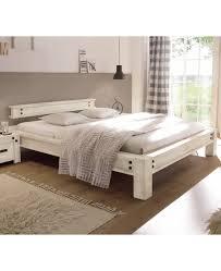 Hasena Factory Line Loft Stil Bett San Luca Akazie Vintage White 160x200