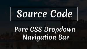 Divinector On Twitter Pure Css Dropdown Navigation Bar Source