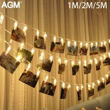 Fairy Lights Taobao Us 3 76 34 Off Led String Light Photo Clip Garland Card Fairy Lights Battery Operated Christmas Garlands Wedding New Year Decoration 30 In Led