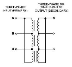 figure 3 9 three phase alternator or transformer connections Loop Wiring Diagram Single Phase Transformer three phase alternator or transformer connections a three phase transformer may be made up of three, single phase transformers connected in delta, wye, Single Phase Transformer Connections
