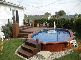 above ground pool decks. Beautiful Above Patio Plus  Above Ground Pools Decks To Ground Pool Decks
