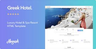 Greek Templates Greek Hotel Hotel Html Template By Hogash Themeforest