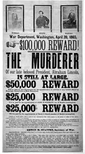 File John Wilkes Booth Wanted Poster New Jpg Wikipedia