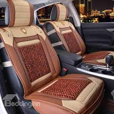 wooden beads health care ventilated car seat covers
