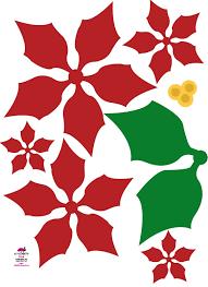Poinsettia Pattern