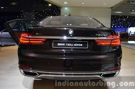 BMW Convertible bmw individual badge : 2016 BMW 7 Series Individual rear at the IAA 2015 - Indian Autos blog