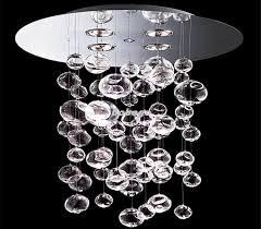 60cm murano due bubble glass chandelier suspension light pendant throughout ideas 2