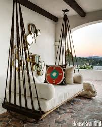 beautiful furniture pictures. hanging outdoor bed love the ropes and rings house beautiful via centsational girl furniture pictures