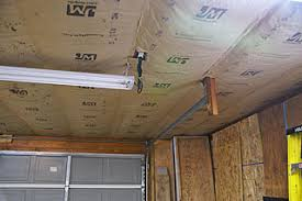 how to insulate a ceiling. Unique Ceiling Fiberglass Insulation Installed In Garage Ceiling With How To Insulate A Ceiling F
