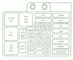gmc fuse diagram wiring diagrams